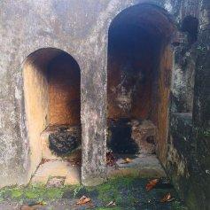 Toalettfaciliteter på nederste platå