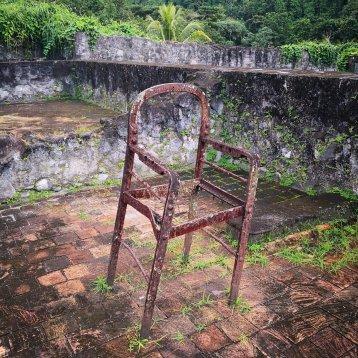 En stol på øvre nivå
