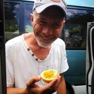 Pasjonsfrukt, nesten spist opp