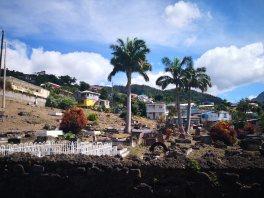 Lokal gravplass rasert av orkanen